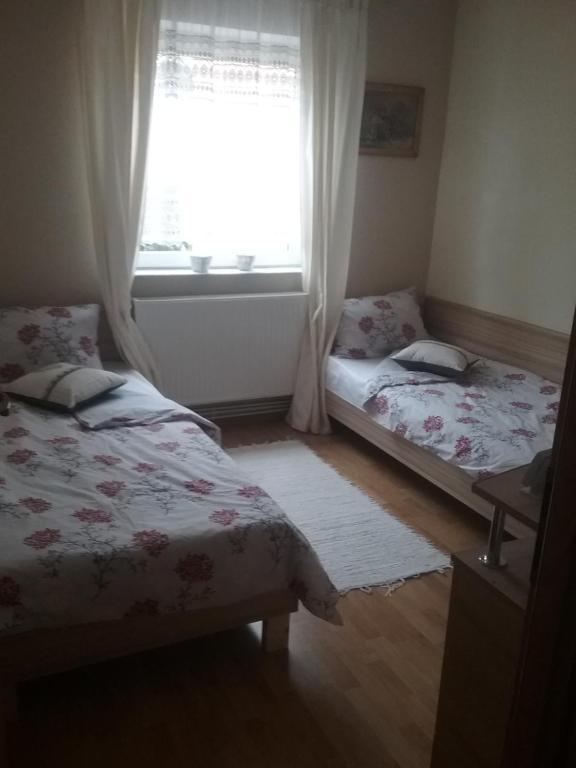 Un ou plusieurs lits dans un hébergement de l'établissement LA MORENA BLANCA