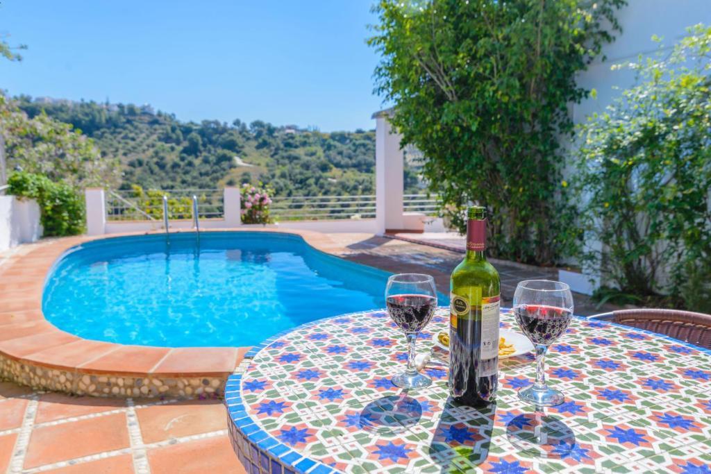 Villa Cortijo Miramar, Frigiliana – Precios actualizados 2019
