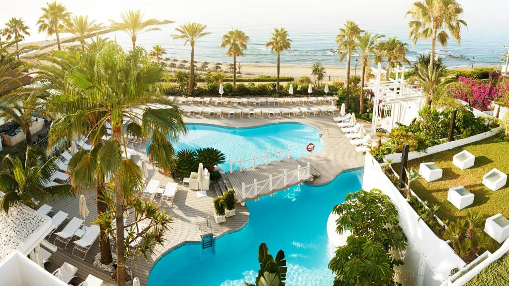 A view of the pool at Puente Romano Marbella or nearby