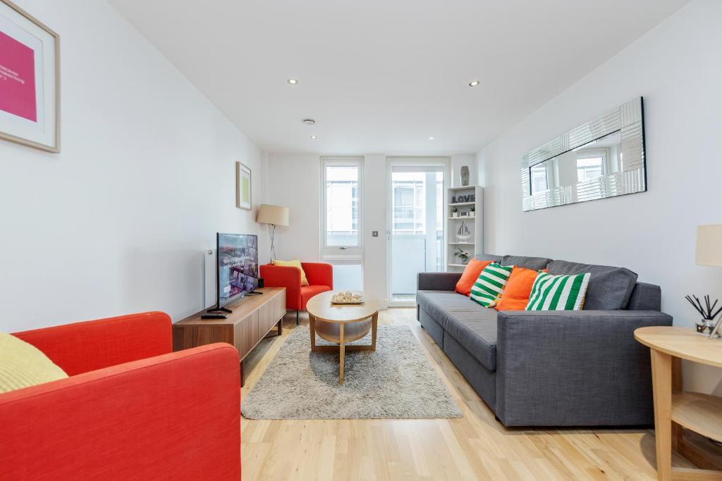 Area soggiorno di Greenwich London Meridian
