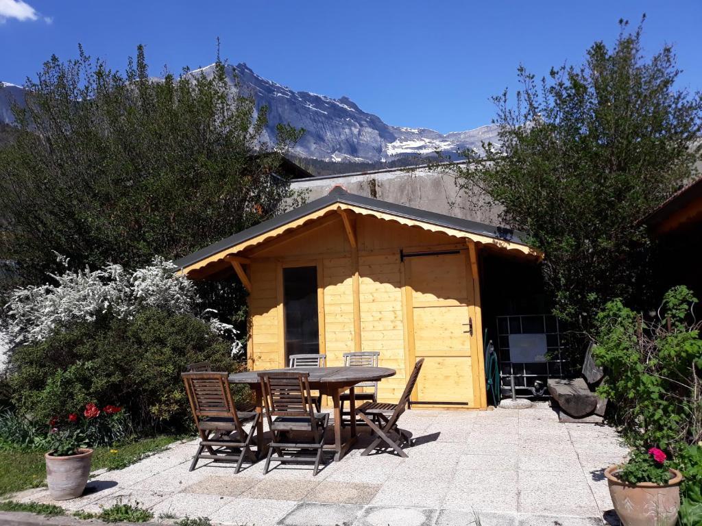 Appartement en rez de jardin à la montagne, Passy – Tarifs 2019