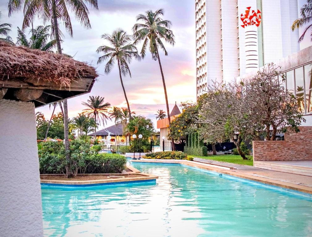 The swimming pool at or near Sofitel Abidjan Hotel Ivoire