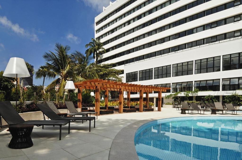 The swimming pool at or near Wish Hotel da Bahia
