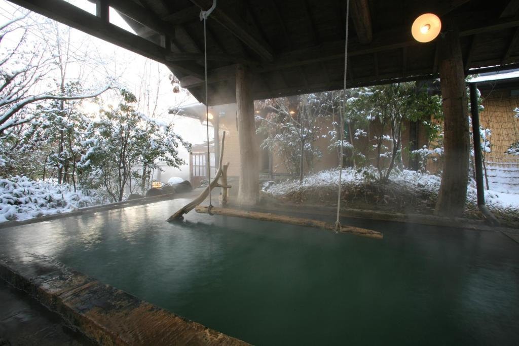 ポイント2.上質な源泉かけ流しの露天風呂