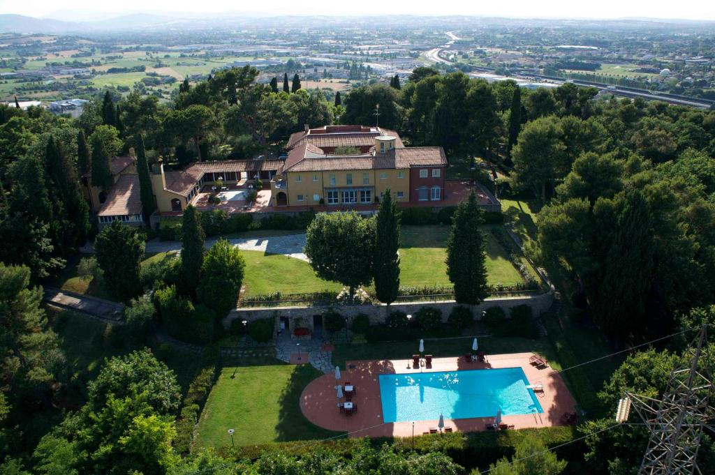 A bird's-eye view of Relais Villa Matarazzo
