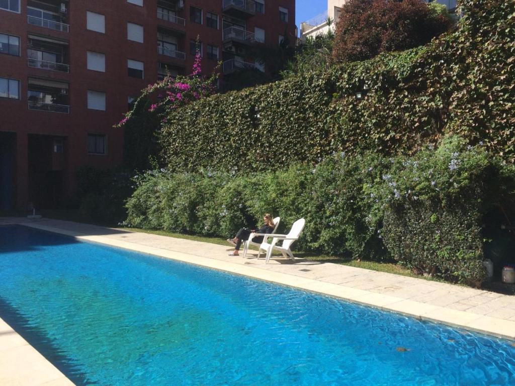 Ferienwohnung Torre en Palermo, jardín, piscina y cochera ...