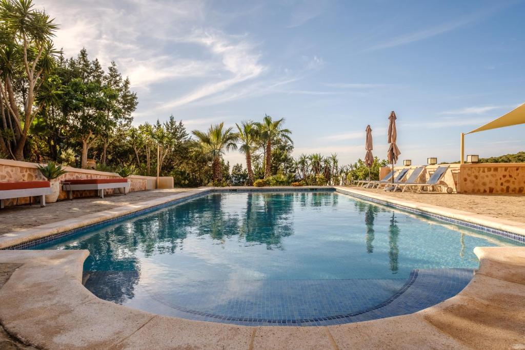The swimming pool at or near Villa Ses Marjades