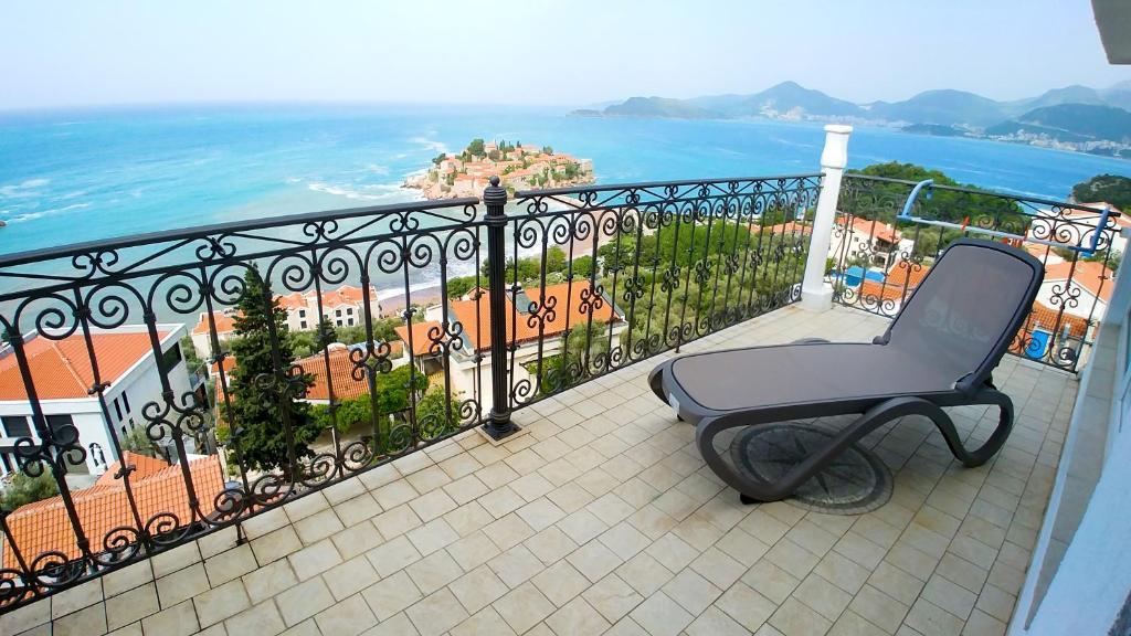 Балкон или терраса в Villa Edelweiss