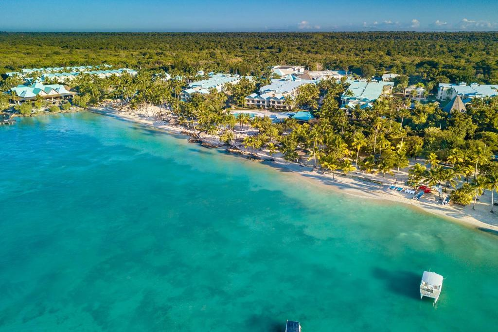 Een luchtfoto van Hilton La Romana, an All-Inclusive Family Resort