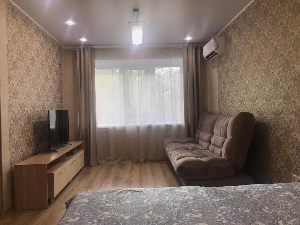 Гостиная зона в Квартира в центре Уфы. Премиум.