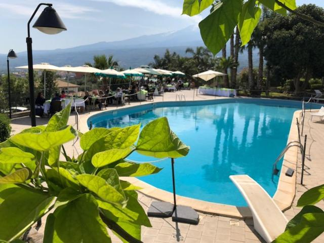 The swimming pool at or near Serra San Biagio