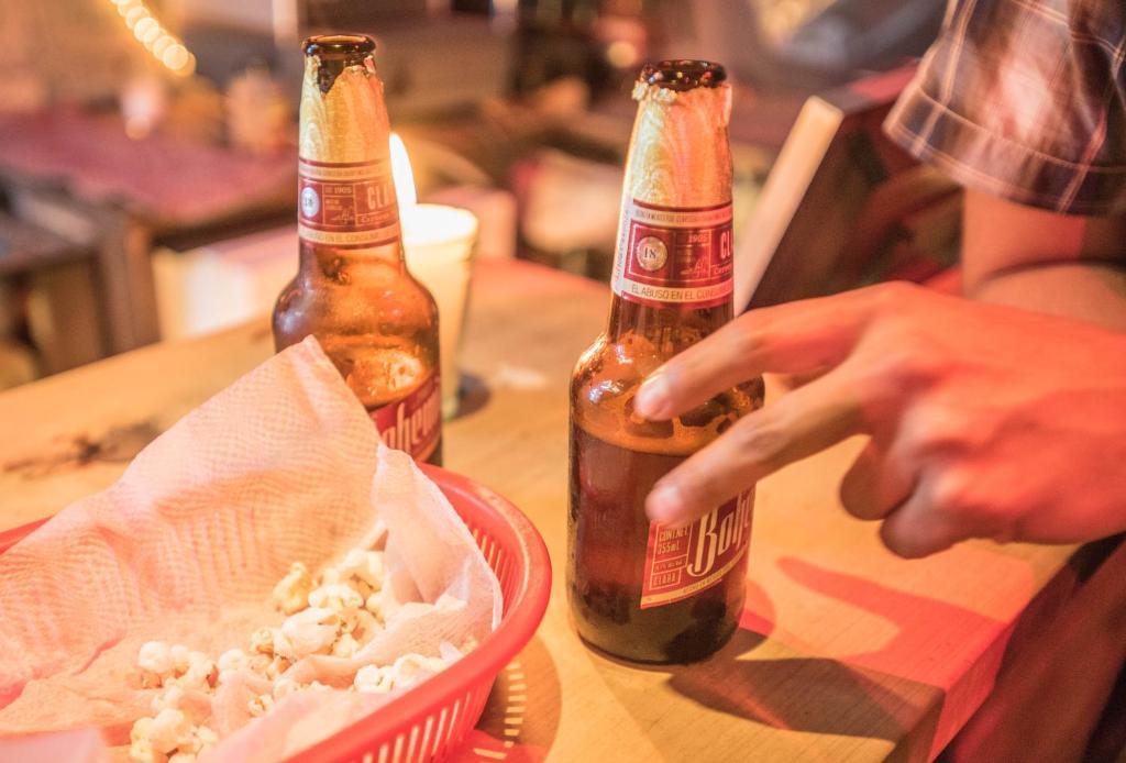 Drinks at El Hostal BnB