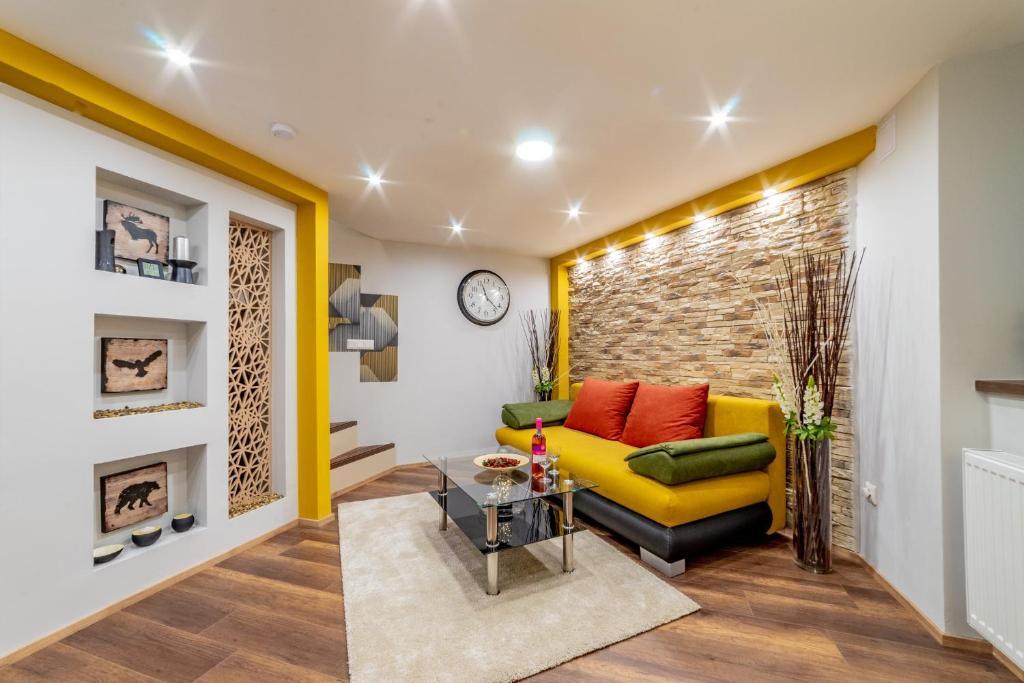 Część wypoczynkowa w obiekcie Diamond Residence - Holy King Apartment