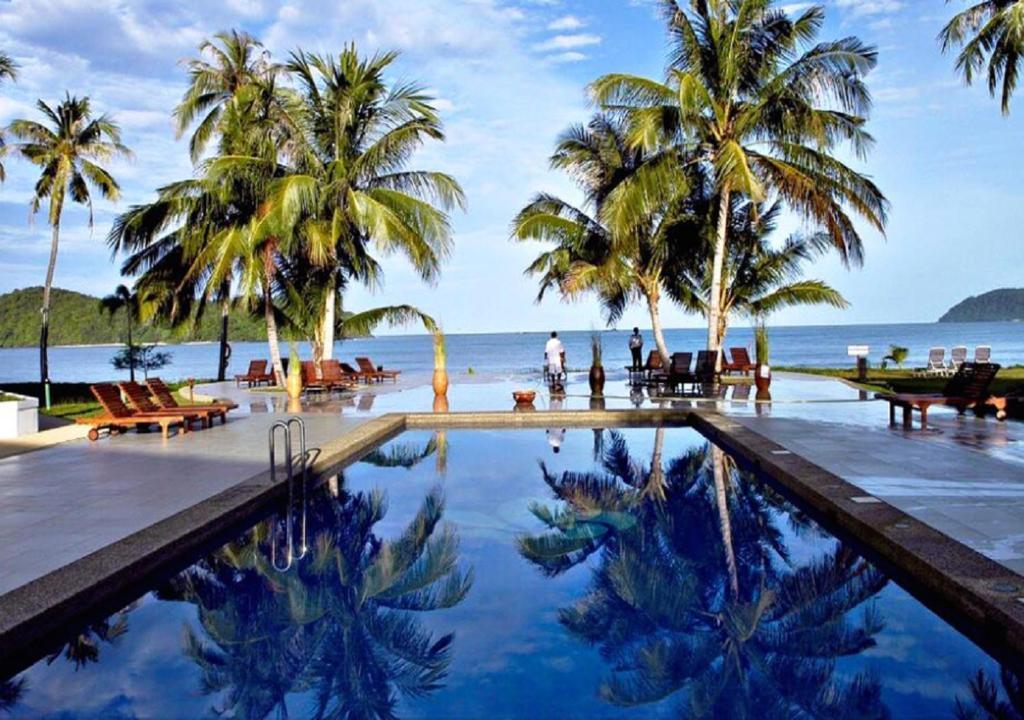 The swimming pool at or near The Frangipani Langkawi Resort & Spa