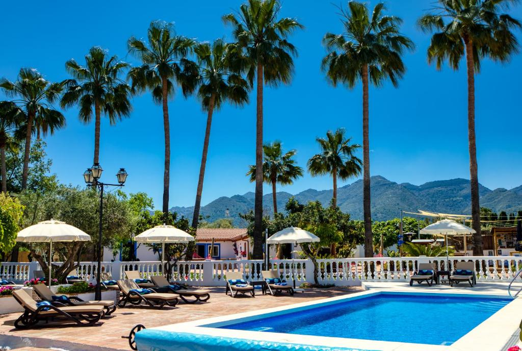 The swimming pool at or near The Palms Boutique Resort Málaga