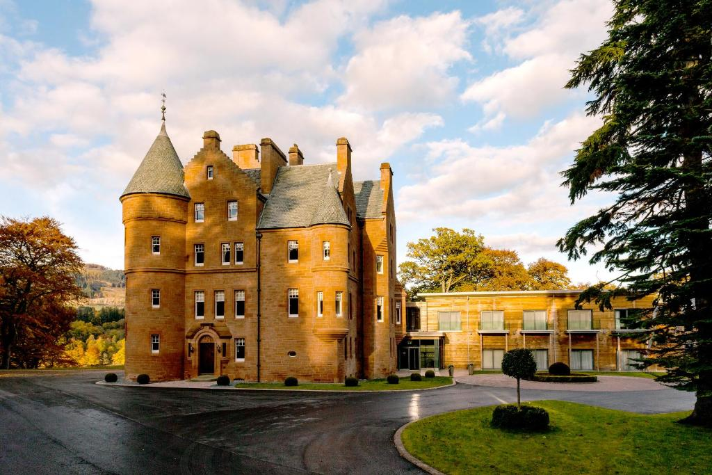 fonab castle hotel, pitlochry, uk - booking