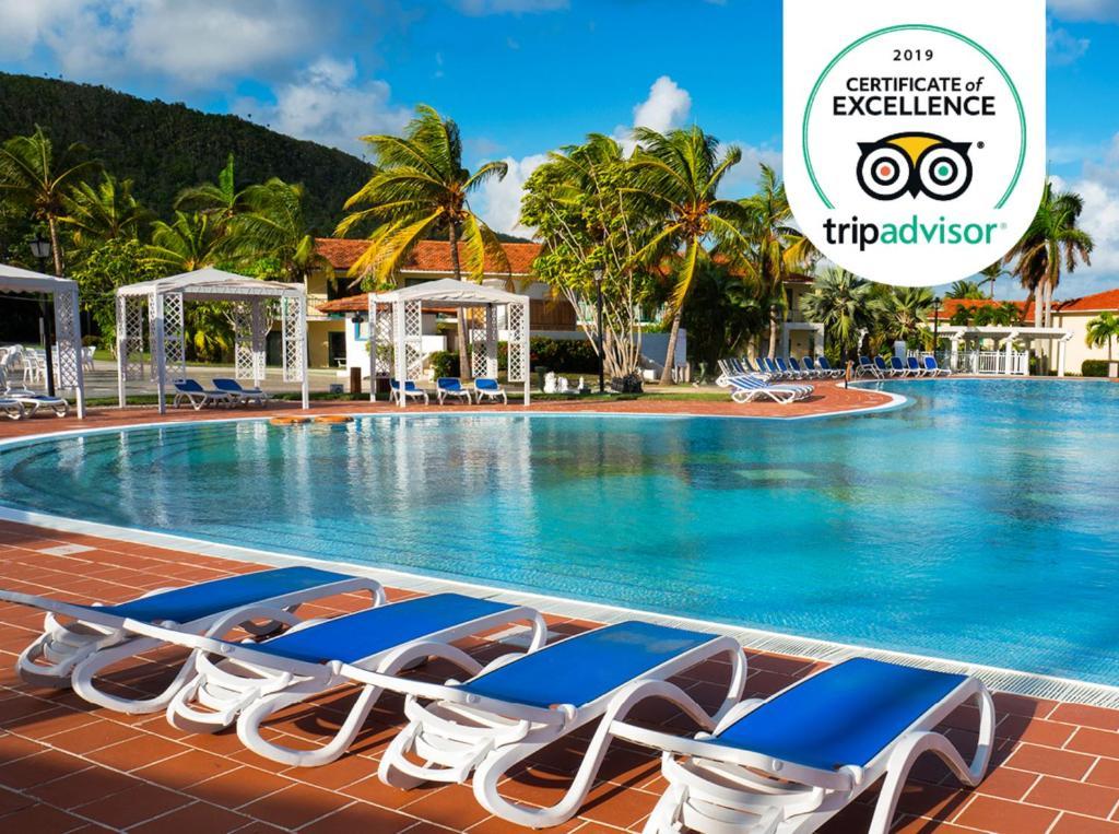 Het zwembad bij of vlak bij Memories Jibacoa Adults Only - All Inclusive