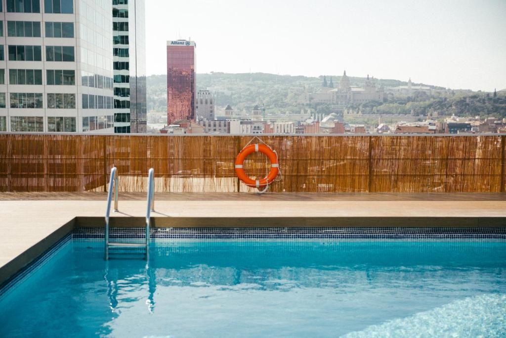 The swimming pool at or near Expo Hotel Barcelona