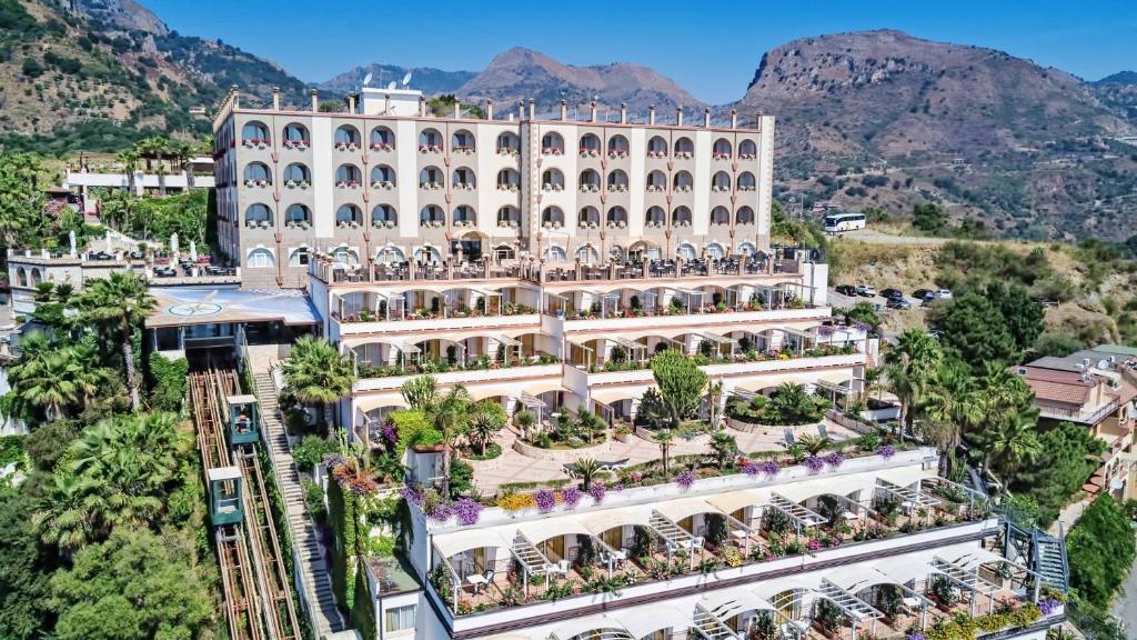 Vue panoramique sur l'établissement Hotel Olimpo le Terrazze