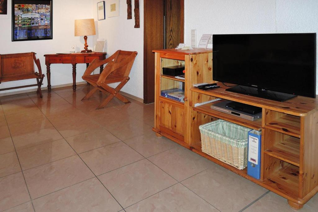 A television and/or entertainment center at Holiday flat Neunkirchen - DMG06015-P