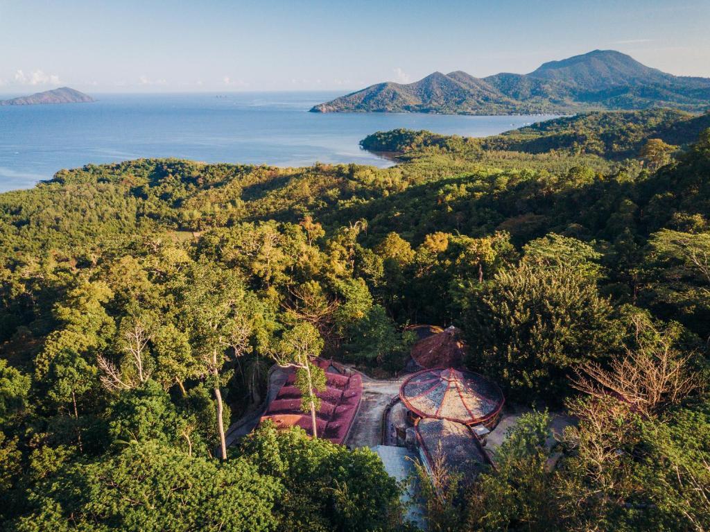 A bird's-eye view of Atremaru Jungle Retreat