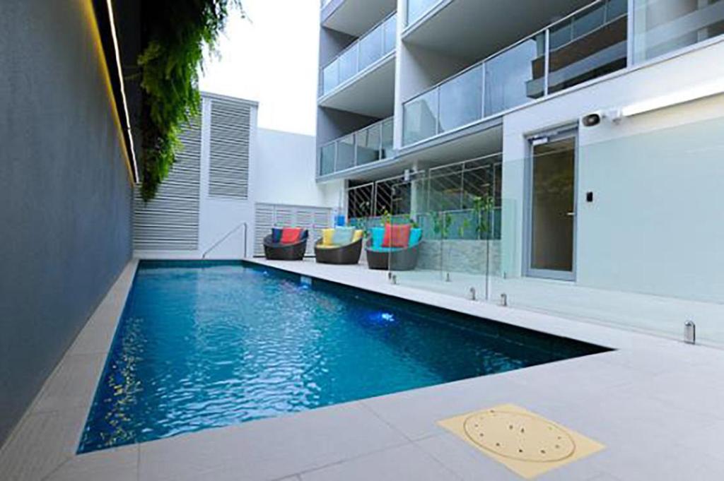 Brisbane arts culture central city views pool gym brisbane