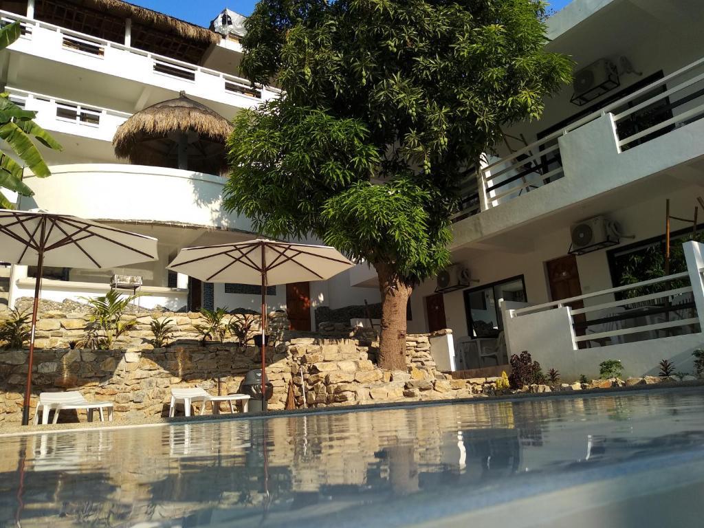 Бассейн в Jalyn's Resort или поблизости