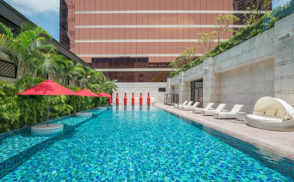 The swimming pool at or near THE LIN Hotel