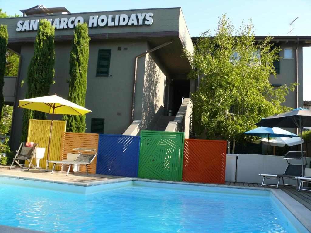 The swimming pool at or near San Marco Holidays
