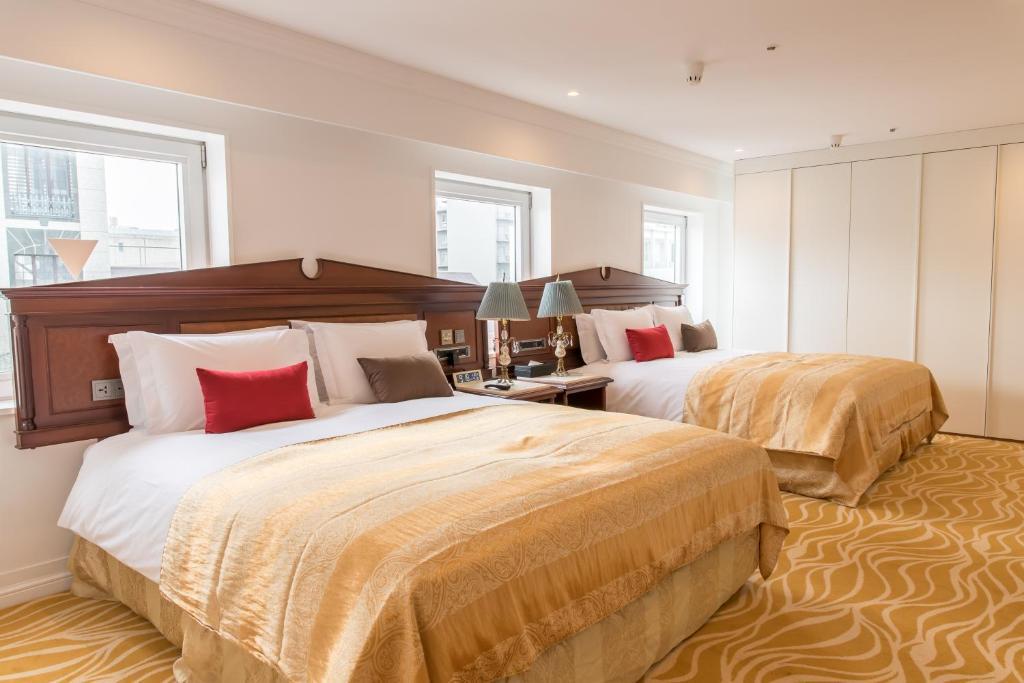 ポイント1.シンプルなお部屋と豪華なお部屋
