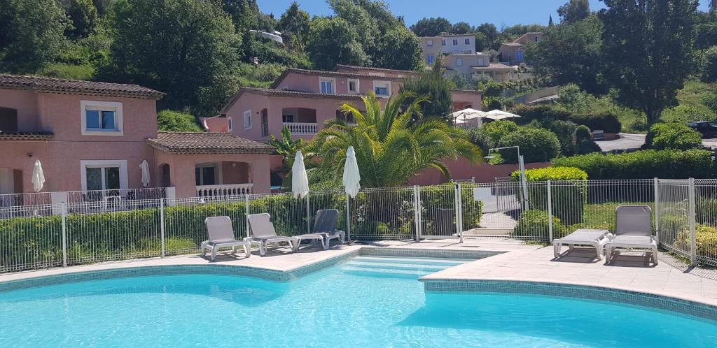 The swimming pool at or near Les Bastides Saint Paul