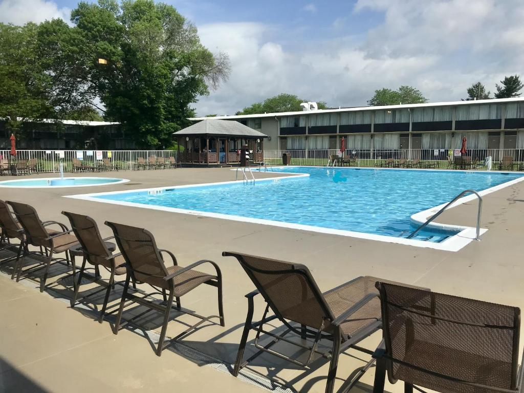 The Swimming Pool At Or Near Surestay Collection By Best Western Lehigh Valley Hotel