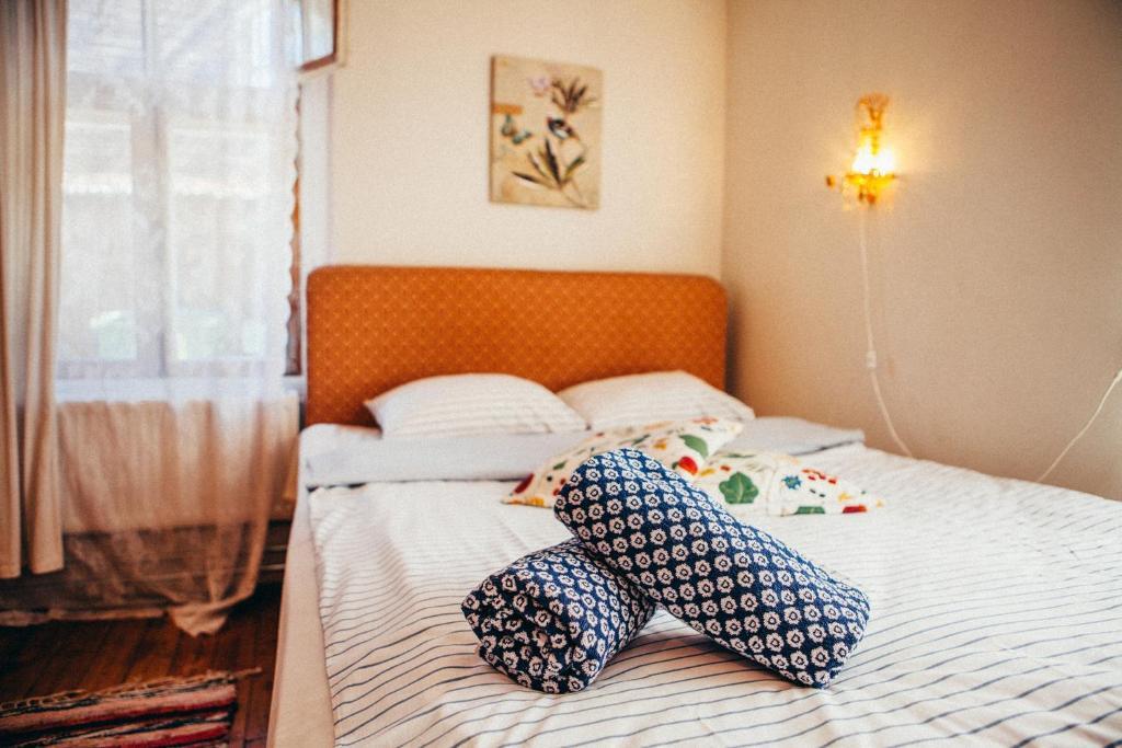 Vuode tai vuoteita majoituspaikassa Marta Guesthouse Tallinn