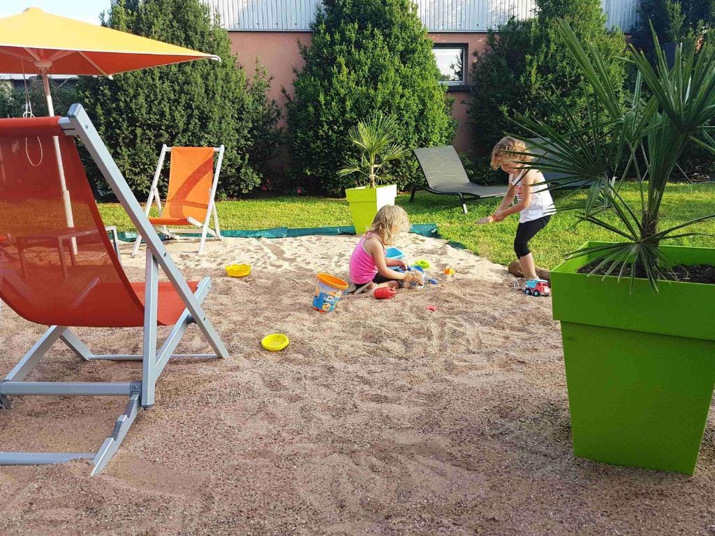 Aire de jeux pour enfants de l'établissement Novotel Metz Amnéville