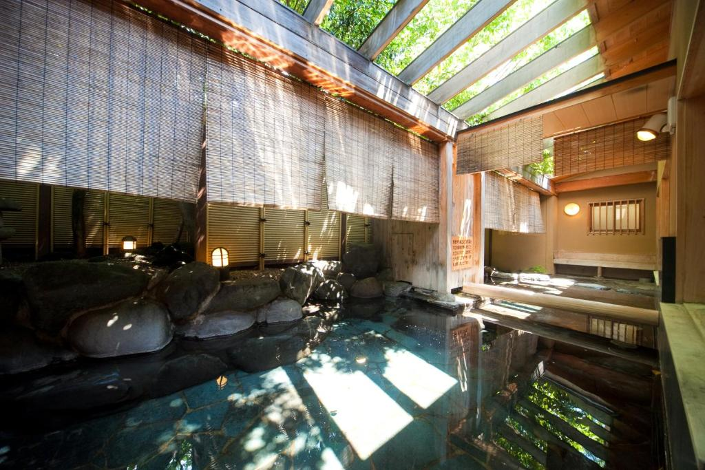 ポイント1.由布の湯をたっぷり楽しめる温泉