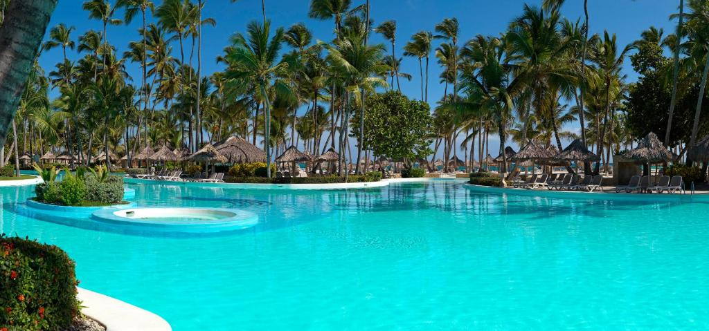 The swimming pool at or close to Meliá Punta Cana Beach Resort Adults Only -All Inclusive