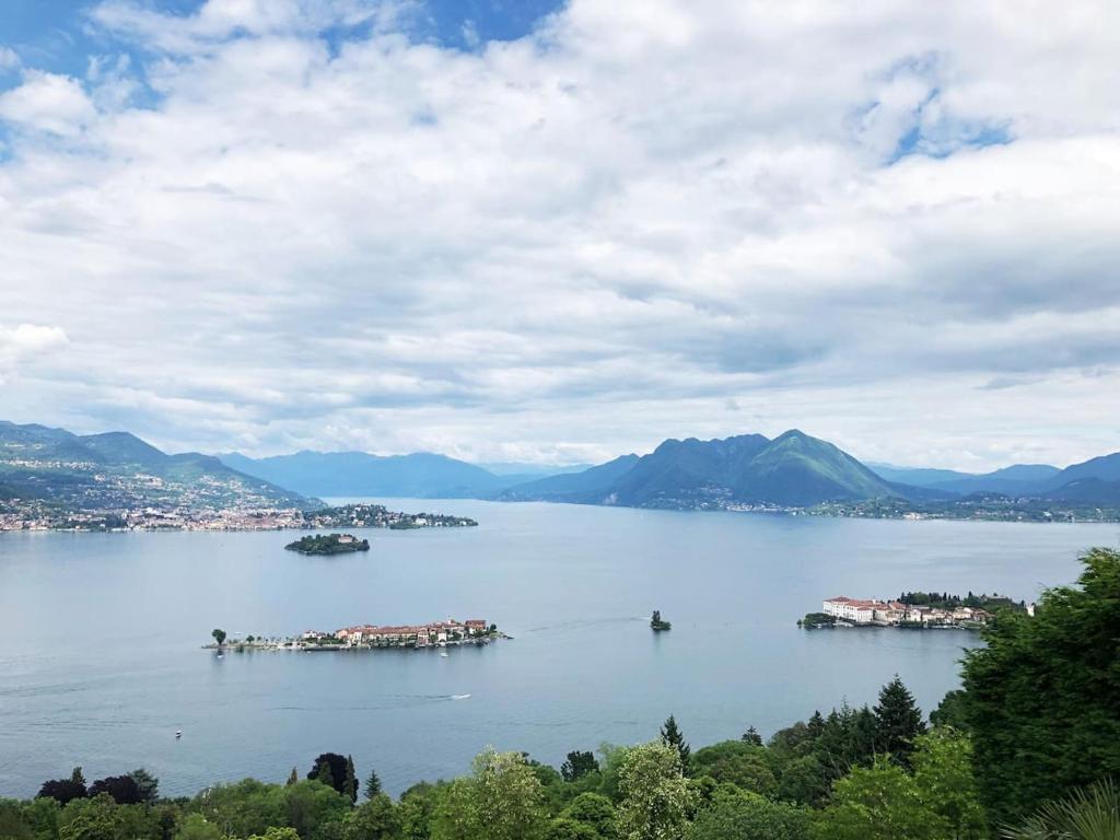 Karte Lago Maggiore Und Umgebung.Ferienhaus Charming Casa Cara At Lago Maggiore Italien