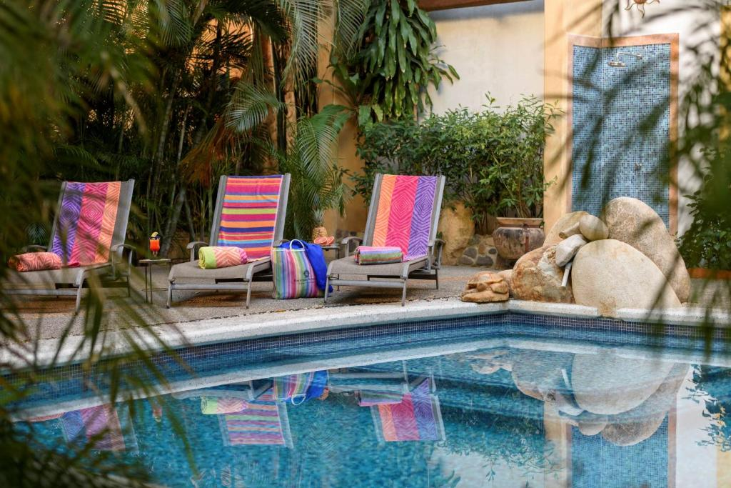 The swimming pool at or near Hacienda Alemana Hotel Boutique