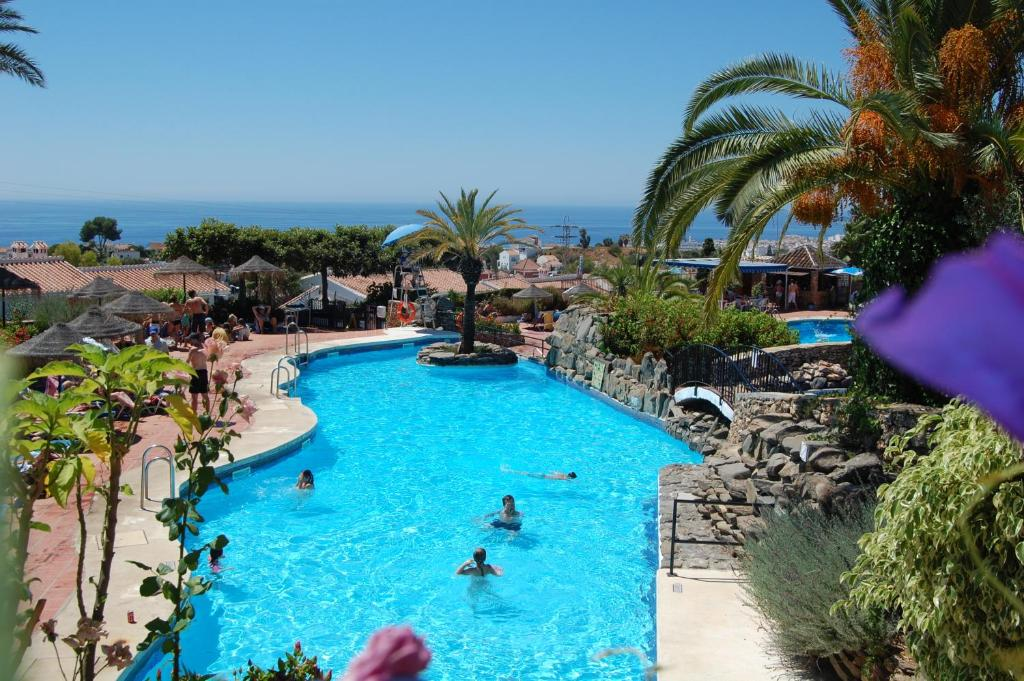 The swimming pool at or near El Capistrano