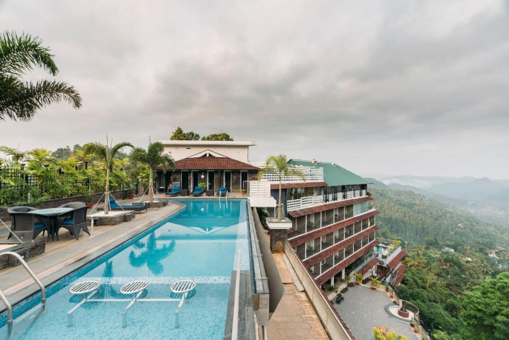 The swimming pool at or near The Panoramic Getaway