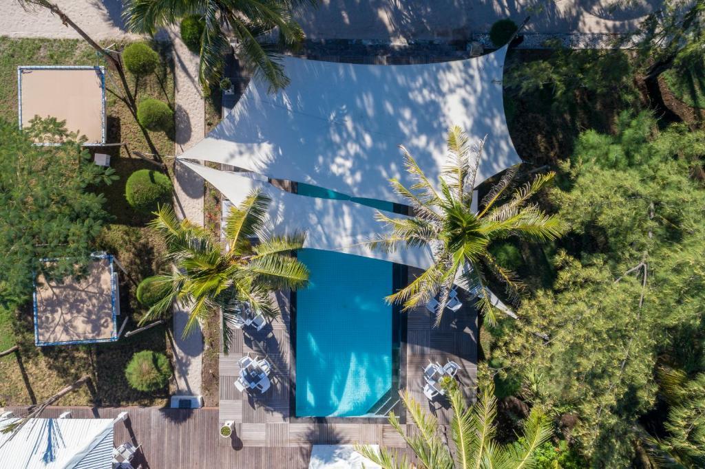 Piscine de l'établissement Gili Eco Villas ou située à proximité