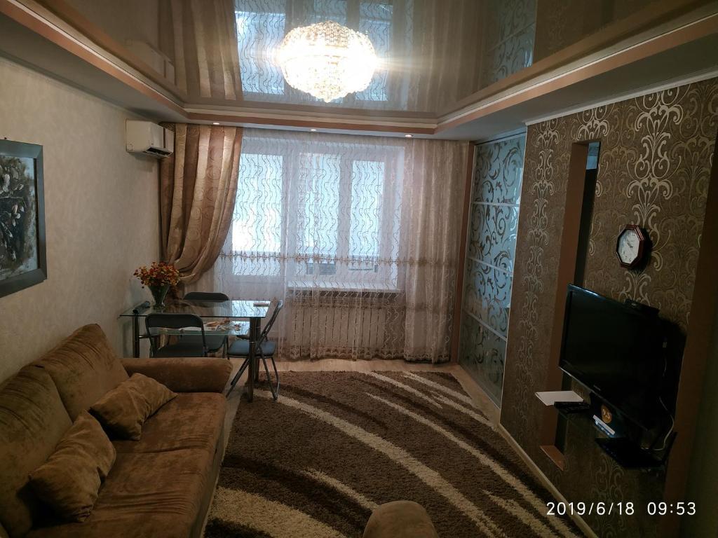 A seating area at . квартира в Аркадии