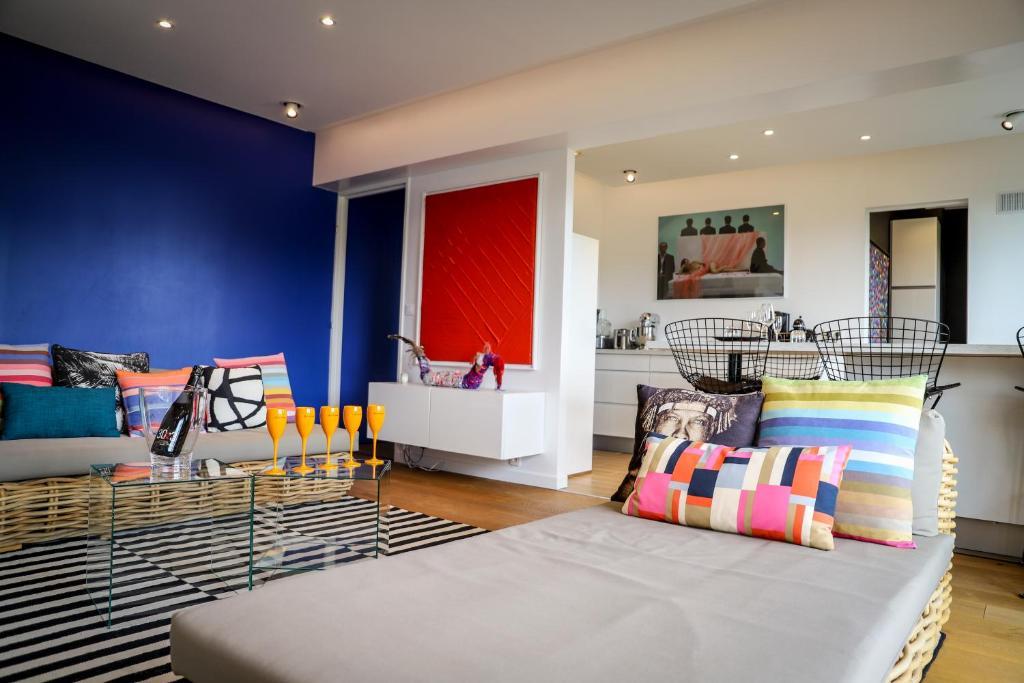 Un ou plusieurs lits dans un hébergement de l'établissement The Sparkling Castle