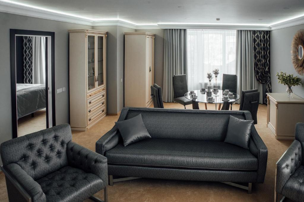 Гостиная зона в Я-Отель