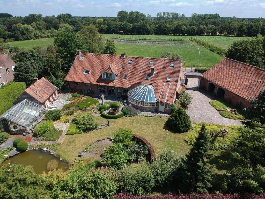 Een luchtfoto van Het Venneke