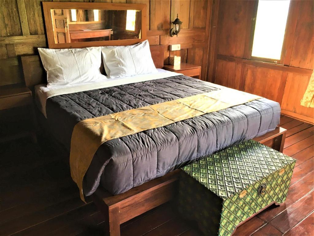 Un ou plusieurs lits dans un hébergement de l'établissement Kubu Taru