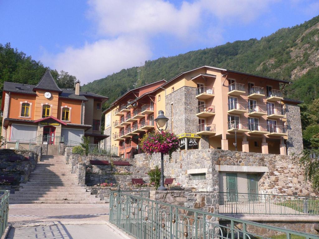 Bâtiment de l'appart'hôtel