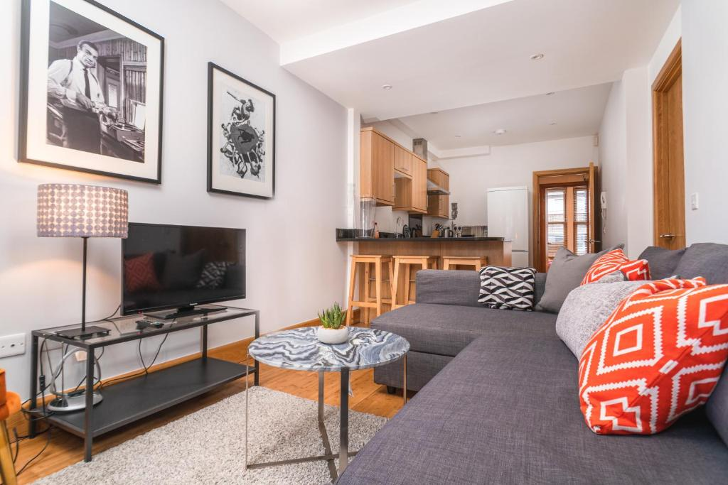 Гостиная зона в Apartments GREYHOUND - SK
