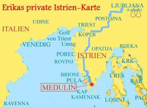 Karte Kroatien Pula.Apartment Calendula Kroatien Medulin Booking Com