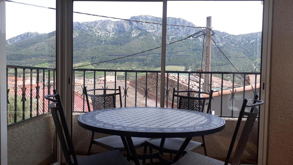 Balkon lub taras w obiekcie Appartement Maury